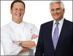 Chef Franklin Becker and Dr. Howard M. Shapiro
